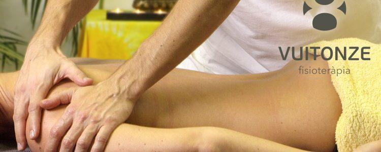 Sortegem 2 sessions de fisioteràpia!