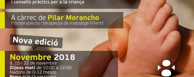 Taller de Massatge Infantil 4a edició novembre 2018